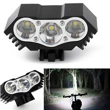 7500 Lumen 3X Lamp T6 LED Bicycle Bike Front Light Lamp Headlight Headlamp Torch
