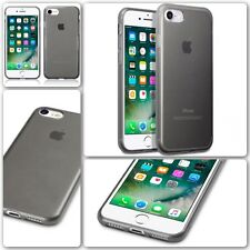 Original Apple iPhone 7 Case Genuine Rock Cover Tech 2 Flex TPU Gel Smoke Black