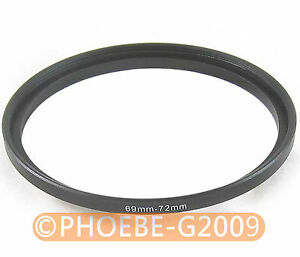 69mm to 72mm 69-72 mm Step Up Filter Ring  Adapter