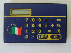 Calcolatrice EuroConvertitore Tascabile (Lira-EURO)
