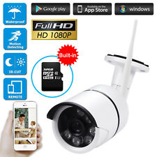 CCTV WIFI Home Security System 2.0MP/1080P Outdoor IP Camera,32G Micro SD,IR CUT