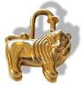 Hermes 1997 Limited Africa Lion Bag Charm KeyRings