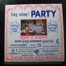 Derby O' Downey - Sing Along! Party LP VG+ P4RM-6076 Private Chicago Record