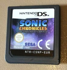 Sonic Chronicles: The Dark Brotherhood (Nintendo DS) Cartridge Only Tested