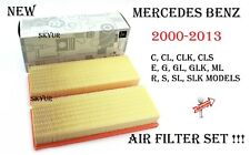 Air Filter Engine Set For Mercedes W203 W215 W209 W219 W211 W463 W164 W220 W221