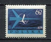 35667) Poland 1959 MNH 30th Anniv. Of Lot, The Polish Airlines