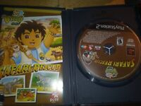 Go, Diego, Go! Safari Rescue - Playstation 2 PS2 Game - Complete & Tested