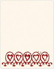 Sizzix Ink-its Letterpress Plate - Circle Hearts by Rachael Bright
