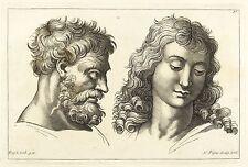 Raffael-Rabbia & Sanftmut-Nicolas PIGNE-rame chiave 1759