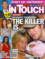 In Touch Magazine April 2 2007 Anna Nicole Smith Angelina Jolie Julian McMahon