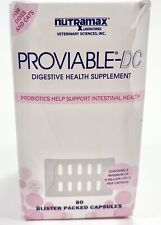 New listing Proviable Dc Digestive Health Supplement for Cats and Dogs 80 Capsules by Nutram