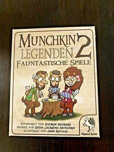 Munchkin Legenden 2 - Fauntastische Spiele Pegasus 17237G Kartenspiel NEU & OVP