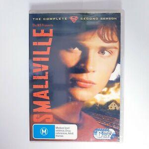 Smallville Season 2 DVD TV Series Free Postage Region 4 AUS - Superman DC Hero