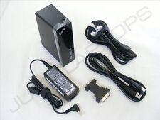 NUOVO display DVI USB 3.0 Docking Station REPLICATORE DI PORTE + PSU Per Laptop RM