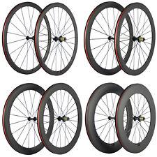 700C Clincher Carbon Road Bike Wheelset R13 Hub Carbon Wheels Basalt Brake Line