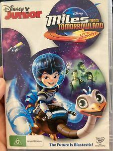 Miles From Tomorrowland - Let's Rocket region 4 DVD (Disney Junior kids series)