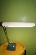 Luces waldmann 60/70er taller escritorio lámpara tl 218 n lámpara de trabajo