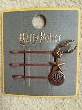 Set of 3 Harry Potter Hair Slides grips, golden snitch, fast dispatch