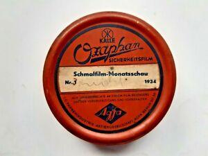 Ozaphan 16mm Schmalfilm Monatsschau Nr. 3 - 1934 Agfa