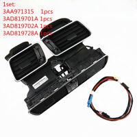 Air Dashboard Air Vent Set+Cable Plug For VW CC Passat B6 3AD819728A 701A 702A