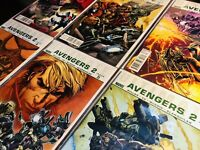Ultimate Avengers 2 #1-6 Complete Set (Marvel Comics 2010) Hulk Thor Iron Man NM