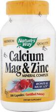 Calcium Magnesium & Zinc, Nature's Way, 100 capsule
