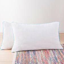Linenspa 2 Pack Shredded Memory Foam Bed Pillows - Standard, Queen, King