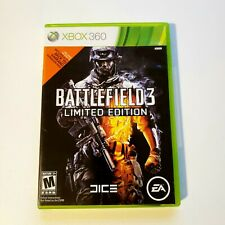 Battlefield 3 -- Limited Edition (Microsoft Xbox 360, 2011) Complete 2 Disc's