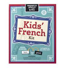 bambini FRANCESE CALAMITA FRIGO Poetry Set - POESIA frigorifero