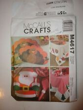 McCalls Crafts M4617 - Thanksgiving & Christmas Holiday Table Settings UNCUT