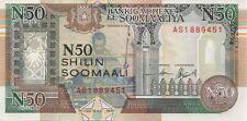 SOMALIE/P-R2 // Billet de 50 SHILLINGS-1991