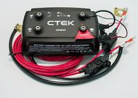 VW T6 CTEK Smart Alternator DC DC Split Charging System 3.5M + Battery Terminals