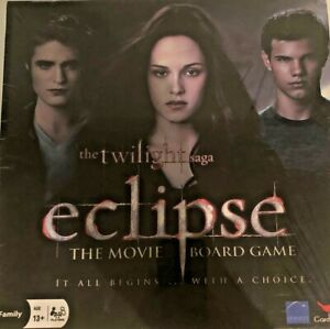 The Twilight Saga Eclipse The Movie Board Game - AS NEW - FREE POST AUSTRALIA
