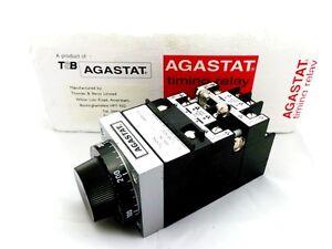 AGASTAT 7024NK 7000 SERIES TIMING RELAY, OFF DELAY, 4PDT , 48VDC, 1-300 SEC