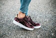 low priced b9966 62a53 7 WOMENS Nike Air Force 1 07 Premium Port Wine 896185-600 VELVET WHITE