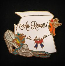 Le Cinderella Mouse Gus Jack Mice Love Is Adventure Goodbye Farewell Disney Pin