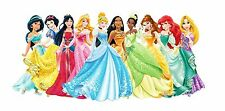 DISNEY PRINCESS edible party cake topper decoration frosting sheet image