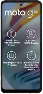 "MOTOROLA G60 (RAM 6GB, 128GB) 6.78""  108+8+2MP Camera Dual SIM GoogleplayPhone"