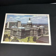 Vintage Indiana Capitol Placemat Laminated Plastic Indiana Indianapolis
