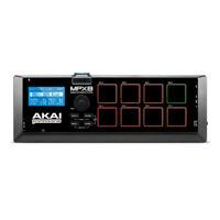 Akai MPX8 Portable Pad Controller and SD Sample Recorder & Player w/ MIDI