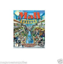 Mall Tycoon 1 - Windows PC . BRAND NEW and FACTORY SEALED