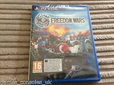 SONY PS VITA FREEDOM WARS BRAND NEW, SEALED GAME! PSV PLAYSTATION