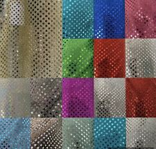 """SMALL CONFETTI 3 MM DOT SEQUIN FABRIC BY THE YARD. 45"""" Wide. Fast Shipping"""