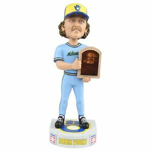 Robin Yount Milwaukee Brewers MLB Legends Hall of Fame Bobblehead MLB