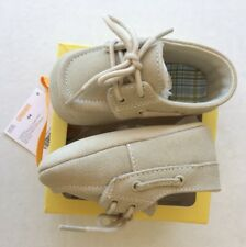 NWT Gymboree Garden Party Size 4 04 Suede Crib Boat Shoes for 6-12 Months