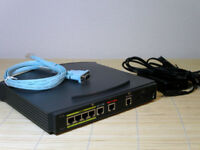 Cisco 836-K9-64 ADSL o ISDN Router 64MB/12MB PLUS IOS