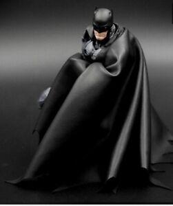 Custom Batman Leather CAPE ONLY Revoltech Yamaguchi 1/12 NOT Figure
