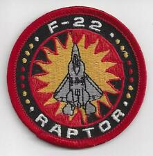 UNUSED: F-22 RAPTOR Patch: Excellent Condition.