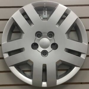 "NEW 17"" Silver Bolt-on Hubcap Wheelcover for 2011-2014 DODGE AVENGER"