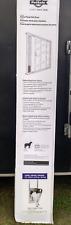 PetSafe Pa11-13121 Aluminum Patio Panel Sliding Glass Pet Door for Dogs and Cats